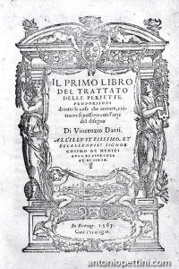 Il primo libro del trattato delle perfette proporzionidi tutte le cose che imitare, e ritrarre si possano con l'arte del disegno...