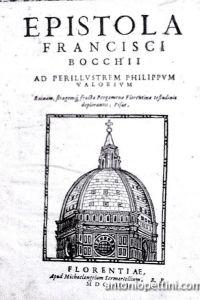 Epistola ad perillustrem Philippum Valorium. Ruinam, stragemq, fracta Pergamenae Florentinae testudinis deplorantis