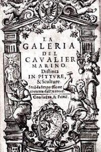 La Galeria del cav. Marino distinta in pitture e sculture. Seconda impressione corretta dall'autore…