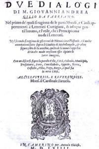 Due dialogi…con molte annotazioni sul Giudicio di Michelangelo
